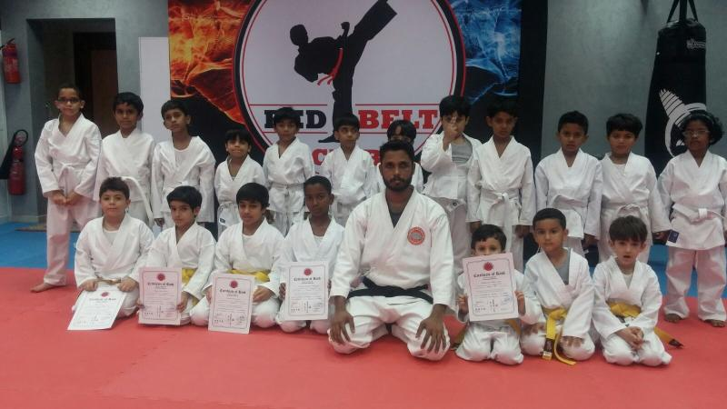 Sensei K T Burhan at UAE dojo